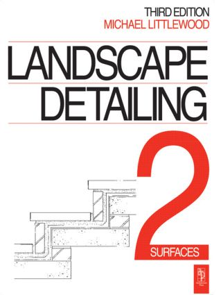 Landscape Detailing Volume 2: Surfaces, 3rd Edition (Paperback) book cover
