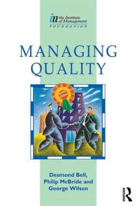 Managing Quality: 1st Edition (Paperback) book cover