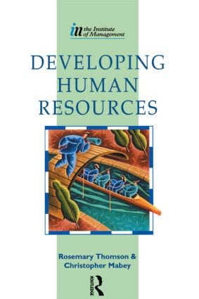 Developing Human Resources: 1st Edition (Paperback) book cover