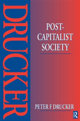 Post-Capitalist Society: 1st Edition (Paperback) book cover