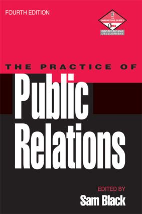 Practice of Public Relations: 4th Edition (Paperback) book cover