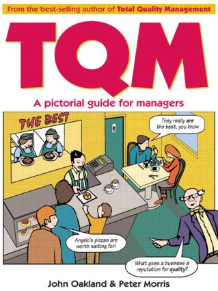 Total Quality Management: A pictorial guide for managers: 1st Edition (Paperback) book cover