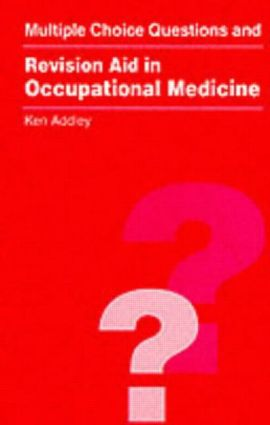 MCQs and Revision Aid in Occupational Medicine (Paperback) book cover
