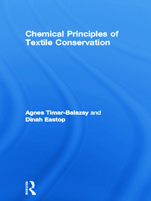 Chemical Principles of Textile Conservation (Hardback) book cover