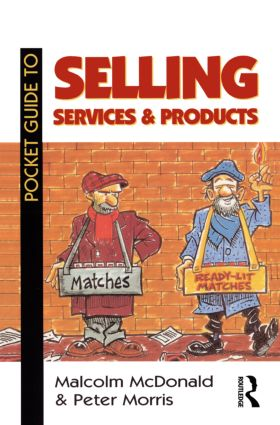 Pocket Guide to Selling Services and Products: 1st Edition (Paperback) book cover