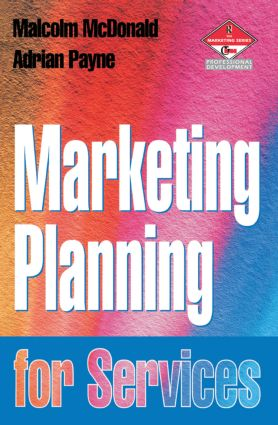 Marketing Planning for Services: 1st Edition (Paperback) book cover
