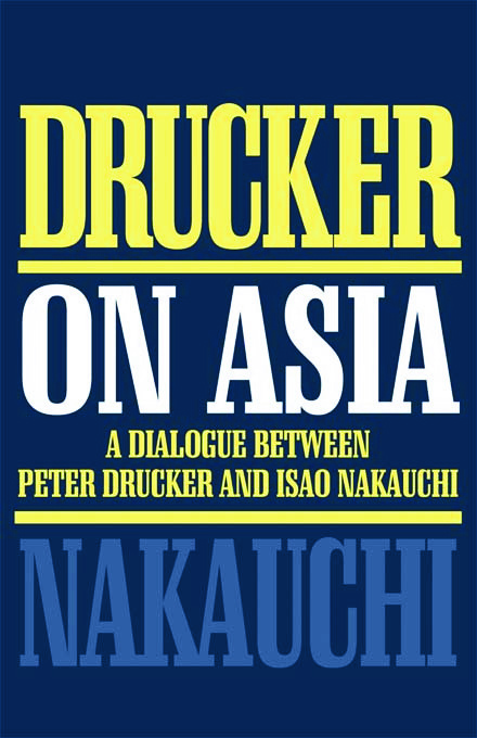 Drucker on Asia book cover