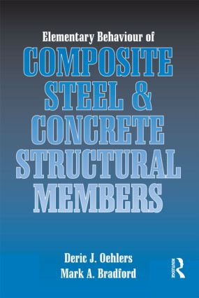Elementary Behaviour of Composite Steel and Concrete Structural Members book cover