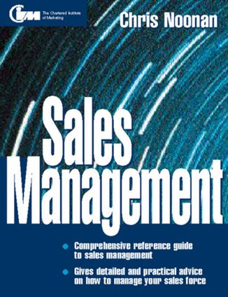 Sales Management: 1st Edition (Paperback) book cover