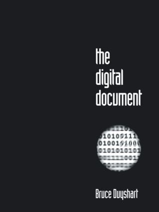 The Digital Document (Paperback) book cover