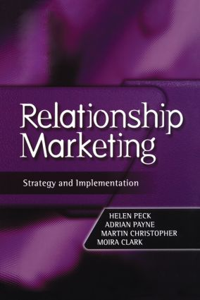 Relationship Marketing (Hardback) book cover