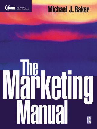 The Marketing Manual (Paperback) book cover