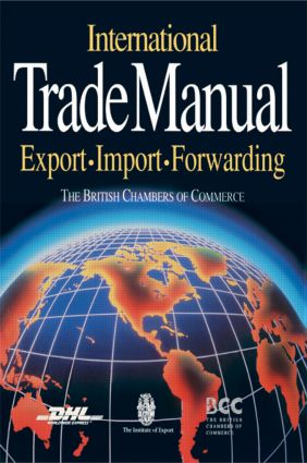International Trade Manual: 1st Edition (Paperback) book cover