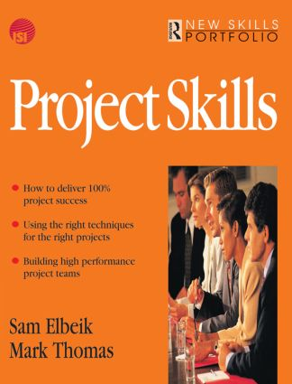 Project Skills: 1st Edition (Paperback) book cover