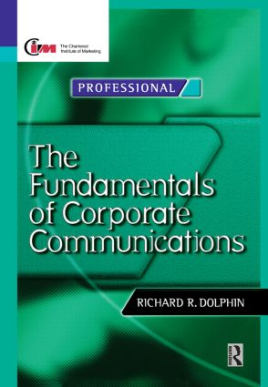 Fundamentals of Corporate Communications (Hardback) book cover