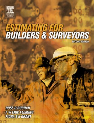 Estimating for Builders and Surveyors: 2nd Edition (Paperback) book cover