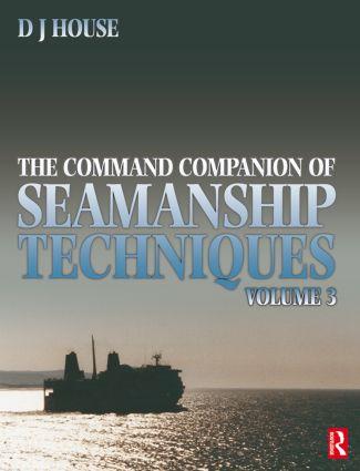 Command Companion of Seamanship Techniques (Paperback) book cover