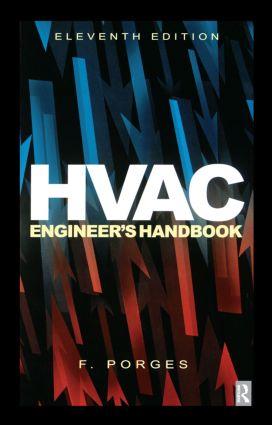 HVAC Engineer's Handbook: 11th Edition (Hardback) book cover