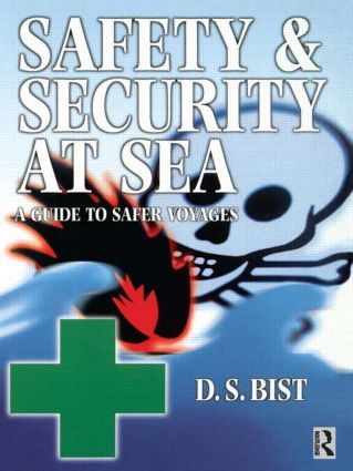 Safety and Security at Sea: 1st Edition (Paperback) book cover