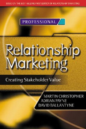 Relationship Marketing (Paperback) book cover