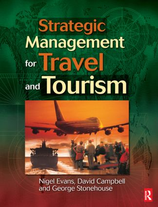 Strategic Management for Travel and Tourism (Paperback) book cover