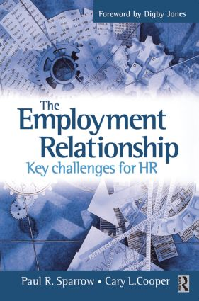 The Employment Relationship: 1st Edition (Paperback) book cover