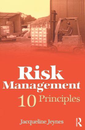Risk Management: 10 Principles book cover