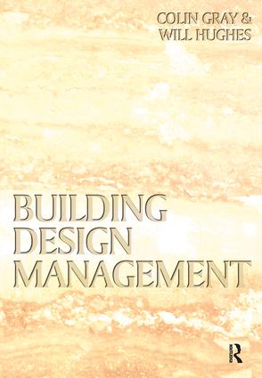Building Design Management book cover