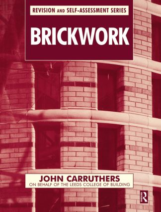 Brickwork (Paperback) book cover