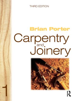 Carpentry and Joinery 1: 3rd Edition (Paperback) book cover