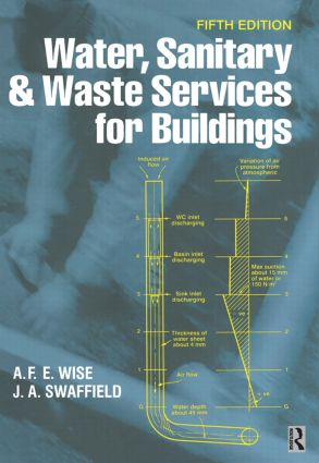 Water, Sanitary and Waste Services for Buildings: 5th Edition (Hardback) book cover