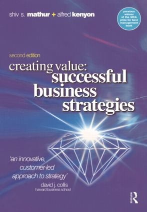 Creating Value: 2nd Edition (Paperback) book cover