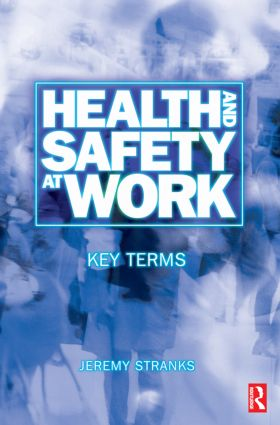 Health and Safety at Work: Key Terms (Paperback) book cover