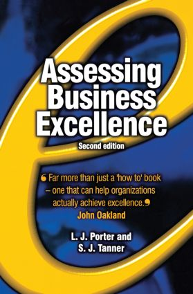 Assessing Business Excellence: 2nd Edition (Paperback) book cover