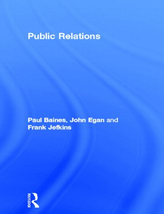 Public Relations: 1st Edition (Paperback) book cover