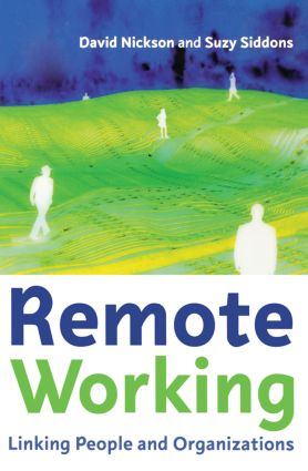 Remote Working: 1st Edition (Paperback) book cover
