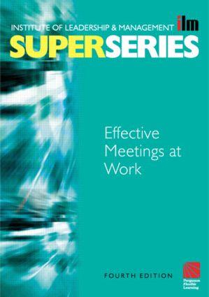 Effective Meetings at Work