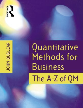 Quantitative Methods for Business (Paperback) book cover