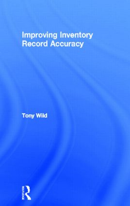 Improving Inventory Record Accuracy: 1st Edition (Paperback) book cover