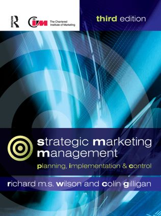 Strategic Marketing Management: 3rd Edition (Paperback) book cover