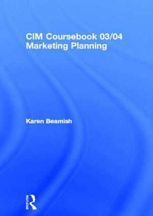CIM Coursebook 03/04 Marketing Planning