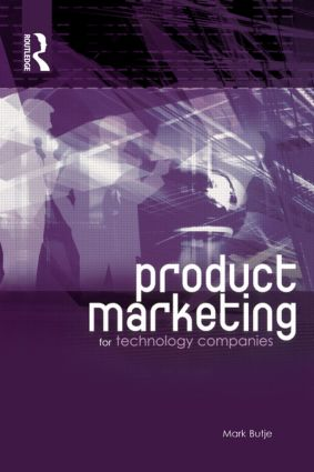 Product Marketing for Technology Companies: 1st Edition (Paperback) book cover