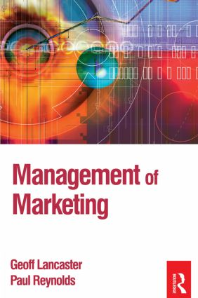 Management of Marketing (Paperback) book cover