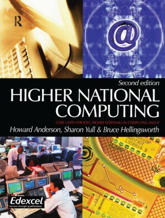 Higher National Computing, 2nd ed: 2nd Edition (Paperback) book cover