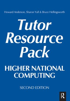 Higher National Computing Tutor Resource Pack, 2nd ed: 2nd Edition (Hardback) book cover