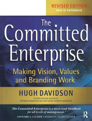 The Committed Enterprise: 2nd Edition (Paperback) book cover