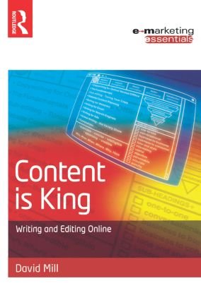 Content is King: 1st Edition (Paperback) book cover