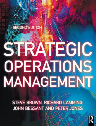 Strategic Operations Management: 2nd Edition (Paperback) book cover