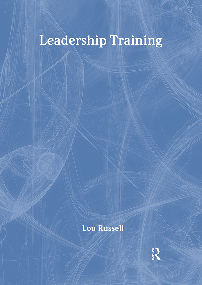 Leadership Training: 1st Edition (Paperback) book cover