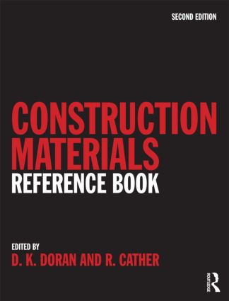 Construction Materials Reference Book: 2nd Edition (Hardback) book cover